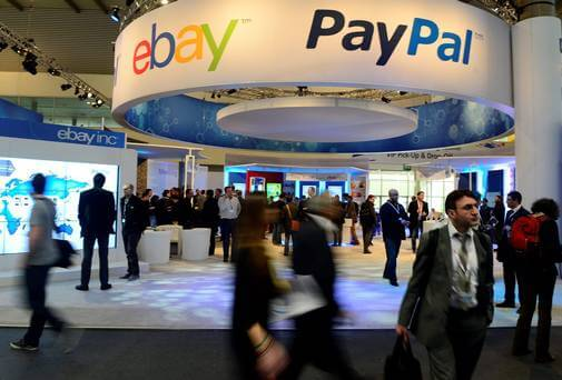 using paypal with ebay